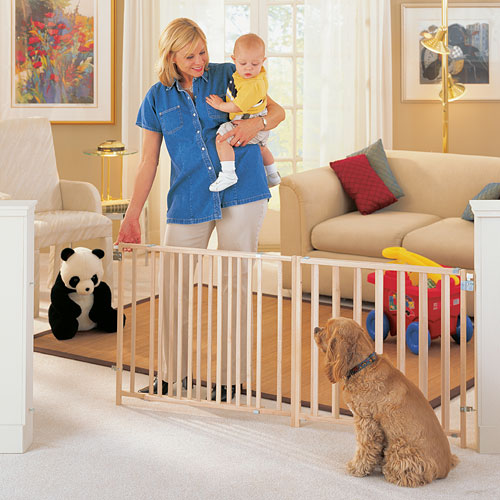 Extra Large 5 6 7 8 Foot Long Baby Dog Pet Wide Gate